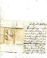 ESPAGNE   Lettre Detorellas 1855 - Cartas