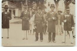 Surinam - RPPC - Boschneger Gouverneur Met Zym Kapiteins - Surinam