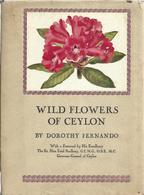 Wild Flowers Of Ceylon By Dorothy Fernando - Libros, Revistas, Cómics