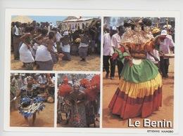 Afrique : Benin - Danse Danses Traditionnelles Du Bénin (Etienne Mangbo Photographe Images De Chez Nous Cp Vierge) - Benin