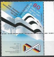 2015 Allem. Fed. Deutschland Mi.  3154**MNH  EUR 50 Jahre Diplomatische Beziehungen Mit Israel - [7] Repubblica Federale