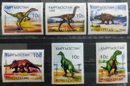 141.KYRGYZSTAN 1998 ST/6 STAMP DINOSAURS  .  MNH - Kyrgyzstan