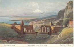 Cartolina Taormina (ME) 1910/20 - Siracusa