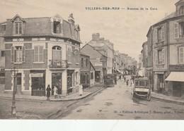 VILLERS SUR MER Lot De  5 Cp Avenue De La Gare+sur Les Rochers- La Digue -villa -villa Esperanza - Villers Sur Mer