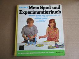 Mein Spiel-und Experimentierbuch (Axel Rex) éditions De 1970 - Books, Magazines, Comics