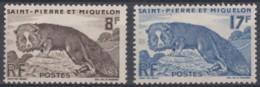N° 345 Et N° 346 - X X - ( C 443 ) - St.Pierre Et Miquelon