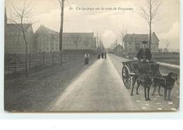 Un équipage Sur La Route De Froyennes - Attelage De Chiens - Tournai