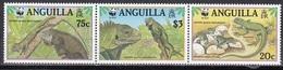 Anguilla - WWF / REPTILES 1997 MNH - Anguilla (1968-...)