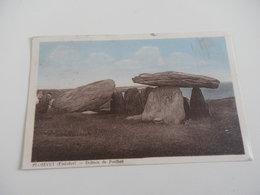 FINISTERE - PLOZEVET - Dolmen - Circulé Cachet 1947 - 2 X CERES 1,50F - Plozevet