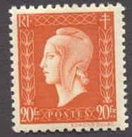 France N°700 Neuf ** 1945 - France