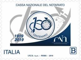 Italia - 2019 - Usato/used - Cassa Nazionale Del Notariato - 6. 1946-.. Repubblica
