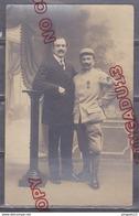 Au Plus Rapide Carte Photo Militaire 110 è Rgt Médaille Décoration Famille - Guerra 1914-18