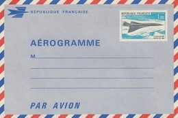 FRANCE - AEROGRAMME 1.00 CONCORDE PREMIER VOL 1969  /  R14 - Aérogrammes