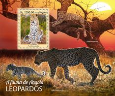 Angola 2019  Fauna   Leopards  S202002 - Angola