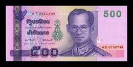 Tailandia Thailand 500 Baht 2001 Pick 107 Sign 81 SC UNC - Thailand