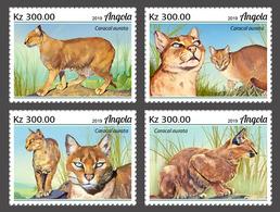 Angola 2019  Fauna African Golden Cat      S202002 - Angola