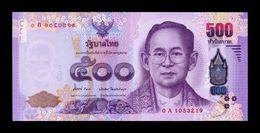 Tailandia Thailand 500 Baht 2013 Pick 121 Sign 84 SC UNC - Thailand
