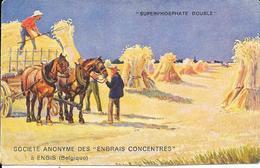 ENGIS - Société Anonyme Des Engrais Concentrés - Superphosphate Double à Engis - 2 Scans. - Engis