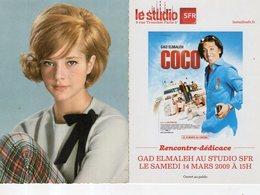 Lot De 16 Cartes Chanteurs Et Affiches De Films - Cartes Postales