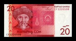 Kirguistan Kyrgyzstan 20 Som 2009 Pick 24a SC UNC - Kyrgyzstan