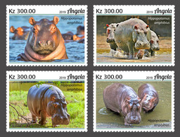 Angola 2019  Fauna   Hippopotamus  S202002 - Angola