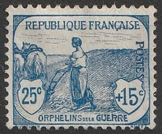 France 1917-18 N° 151  MH  Orphelins De Guerre  (F24) - France