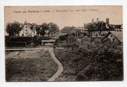 - CPA PFALZBURG (Phalsbourg / 57) - Deutsches Tor Und Altes Schloss - Verlag Viktor's 8 12 16 - - Phalsbourg