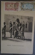 Afrique Djibouti Femme Somalie  Cpa Timbrée Cote Française Des Somalis - Djibouti