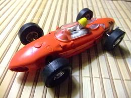 SCALEXTRIC Triang FERRARI 156 V6 ROJO GUIA FIJA TODO ORIGINAL - Scale 1:32