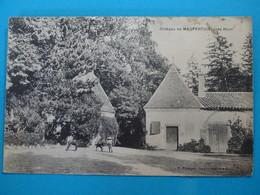 63 ) Chateau De Maupertuis : Près Riom  - Année 1906 :  EDIT : Passager - France