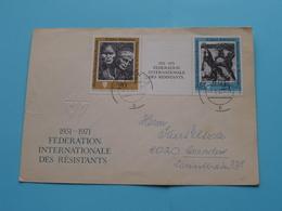 1951 - 1971 Fédération Internationales Des Résistants > 20 Jahre > Anno 1971 > Dresden ( See/zie/voir Photo ) ! - Umschläge - Gebraucht
