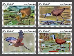 Angola 2019  Fauna Jacanas (Birds)   S202002 - Angola