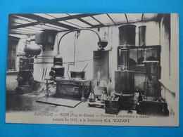 63 ) Riom - Distillerie CH. VANOT - Nouveau Laboratoire à Vapeur Installé En 1913 : EDIT : Vanot - Riom