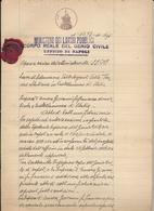 1939 CASTELLAMMARE DI STABIA LAVORI DI SISTEMAZIONE SORGENTI TERME STABIANE APPALTO E DISEGNO TECNICO - Technical Plans