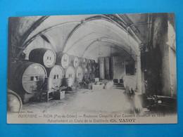 63 ) Riom - Distillerie CH. VANOT  Ancienne Chapelle Du Couvent Construit En 1598 Un Chaix De Distillerie : EDIT : Vanot - Riom