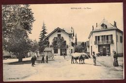 Novalaise La Place Animée * F Ontaine  * Poids Public * Boeufs  * Savoie 73470 * Arrondissement Chambéry - France