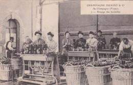 279725Champagne Duminy & Co Chantier, Ringage Des Bouteilles Nr. 7 (droite Petite Déchirure) - Wijnbouw