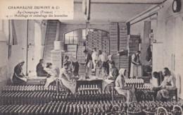 279726Champagne Duminy & Co Chantier, Habillage Et Emballage Des Bouteilles Nr. 14 - Wijnbouw