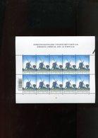 Belgie 2002 Nr 3091 Portugal JOINT ISSUE Windmills OLV Lombeek Roosdaal Acores Volledig Vel Plaatnummer 1 - Panes
