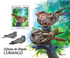 Angola 2019  Fauna Nightjars  (Birds)   S202002 - Angola