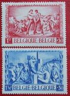 Krijgsgevangenen Au Profit Des Sinistrés 1945 OBP 697-698 (Mi 708-709) Ongebruikt /MH BELGIE BELGIUM - Unused Stamps
