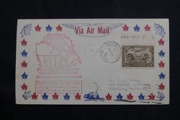 CANADA - Enveloppe 1er Vol Edmonton  / Winnipeg En 1931, Affranchissement Plaisant - L 61016 - Briefe U. Dokumente