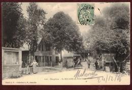 Saint-Hilaire Village Animée Fontaine Café * Isère 38660 * Saint-Hilaire Du Touvet * Saint Hilaire Du Touvet - Saint-Hilaire-du-Touvet