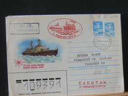 A12/884 ENVELOPPE RUSSE   VENTE RAPIDE A 1 EURO - Polar Ships & Icebreakers