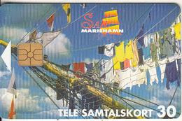 ALAND ISL. - Sail Mariehamn, Tirage 8000, 05/96, Used - Aland
