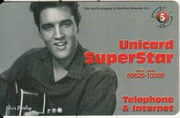 GREECE - Elvis Presley, Stargate Prepaid Card 5 Euro, Tirage 6000, Sample - Personen