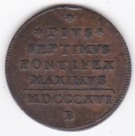 Vatican. Mezzo Baiocco 1816 Bologna Année XVII . Pie VII - Vatican