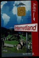 HUNGARY 1998 PHONECARD INTERNETLAND USED VF!! - Hungría