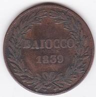 Vatican.  Baiocco 1839 Bologna Année IX. Grégoire XVI - Vatican