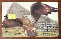 GIBRALTAR GNC AIGLE EAGLE TÉLÉCARTE 100U PHONECARD CARD - Gibraltar
